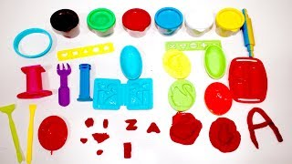Color Clay Diy Toys Review || Kids Color Learning In Bing Bing Kids.