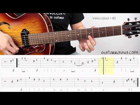 BLUES 005 - Como tocar un blues en guitarra, como se toca blues guitarra gratis tutorial completo
