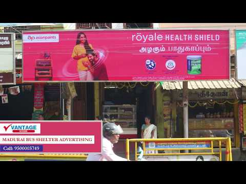 Promote Your Brand at Madurai Bus Stop Shelters