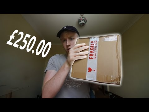BUYING a mystery box off the DARK WEB !(WEIRD)!