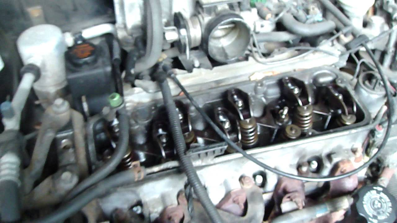 Chevy Cavalier 2.2L Worn Rocker Arms - YouTube