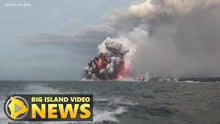Hawaii Eruption: USGS Explains Lava Explosions At Ocean Entry (July 16, 2018)
