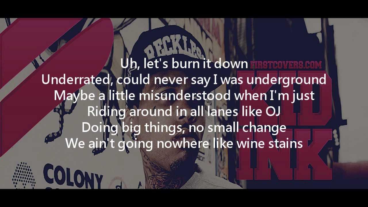 Kid Ink - Hell and Back ft. MGK Lyrics - YouTube
