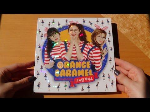 Unboxing Orange Caramel 오렌지캬라멜 4th Single Album My Copycat 나처럼 해봐요