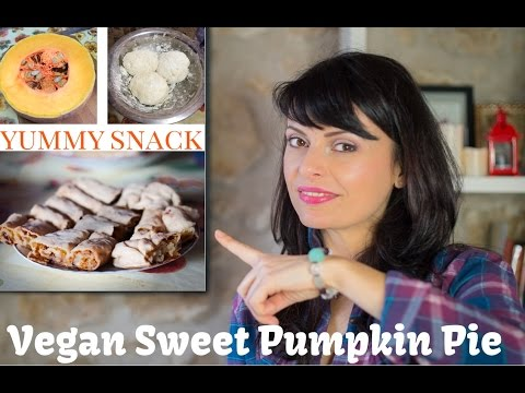 Homemade Pumpkin Pie - Vegan Recipes - Healthy Dessert Ideas:  Romanian Traditional Recipe ;)