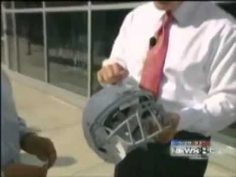 Schutt featured on News 8 at Five Using Hothead Technology
