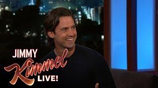 Jimmy Kimmel Helps Milo Ventimiglia Create 'This is Us' Merchandise