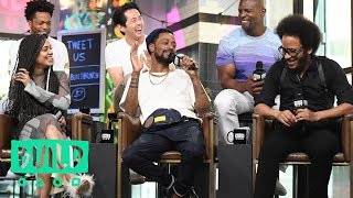 Boots Riley, Lakeith Stanfield, Tessa Thompson, Jermaine Fowler, Terry Crews & Steven Yeun On