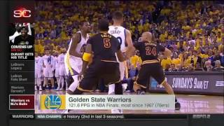 Stephen Curry Postseason & Warriors vs Michael Jordan' Bulls    June 13  2017