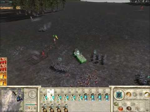 Rome Total War Online Battle #1978: 4 Player Free-For-All (live-commentary)