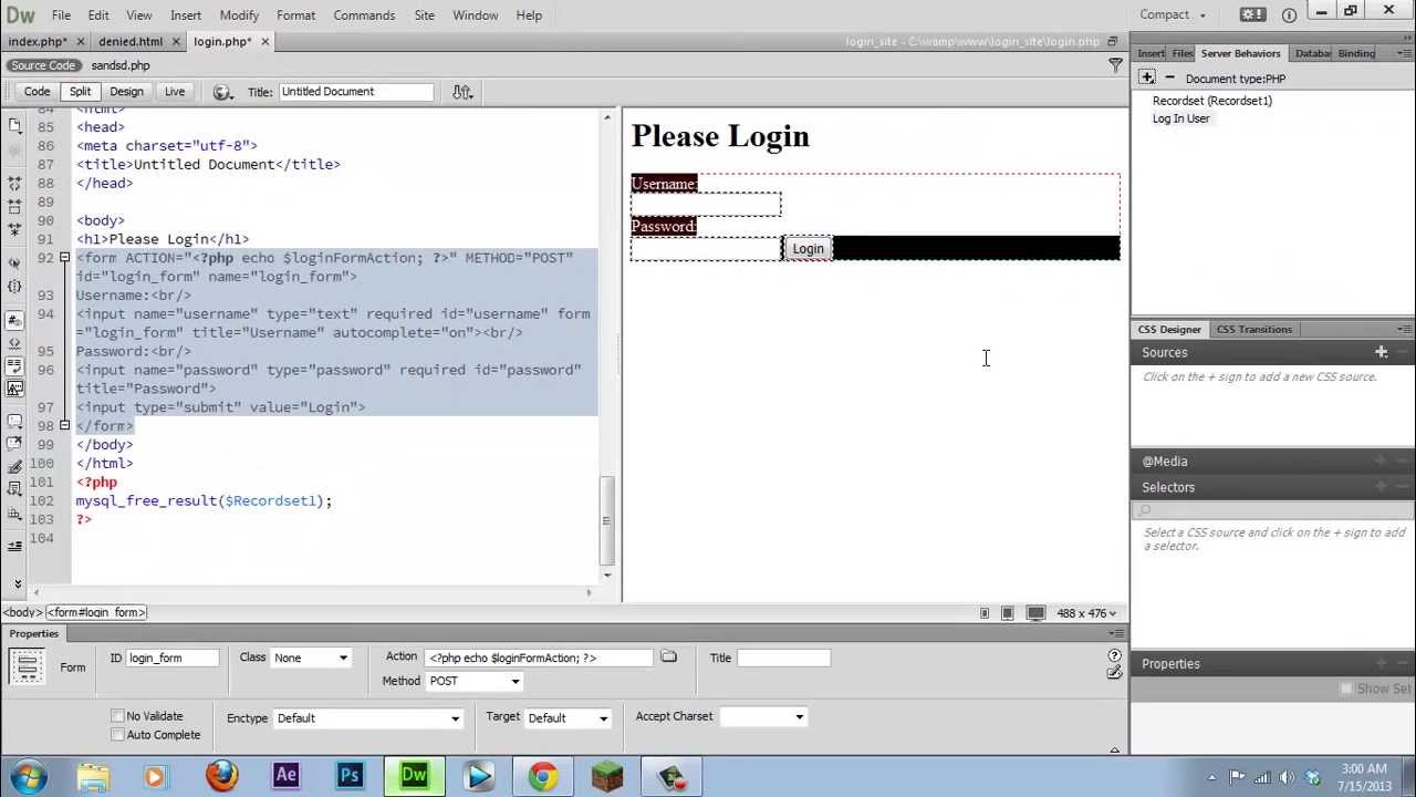 1 Und 1 Website Login