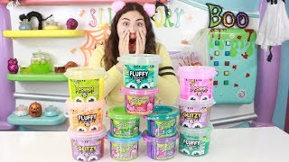 MIXING ALL MY STORE BOUGHT BUCKETS OF SLIME!!!! Slimeatory #461