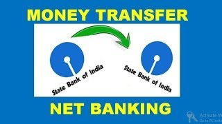 how to transfer money from sbi to sbi (intra bank fund transfer ) using net banking ( in hindi )