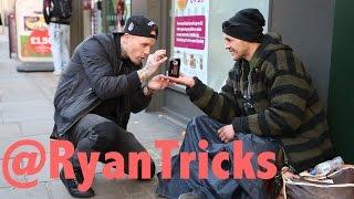 Magician makes Homeless man's wish come True.