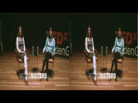 Stories from Across the Globe: The Kitchen Sisters at TEDxGoldenGatePark (3D)