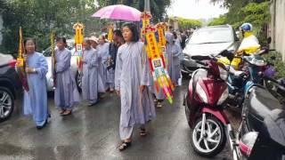 Trực tiếp Lễ động quan NSUT Thanh Sang, mưa Sài Gòn 25.4.2017(5)