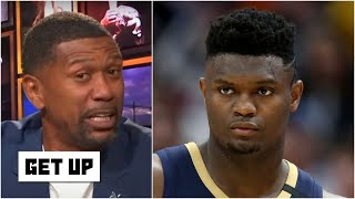 You have to protect an athlete like Zion Williamson from himself - Jalen Rose | Get Up