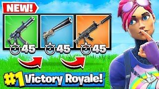 You *MUST* Switch Guns every 45 Seconds in Fortnite Battle Royale