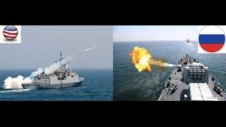Sức mạnh hải quân Nga- Mỹ : Ai sợ Ai?