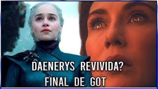Daenerys Revivida no Final de Game Of Thrones - 8ª Temporada