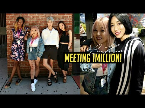 Meeting 1MILLION Dance Studio at KCON!