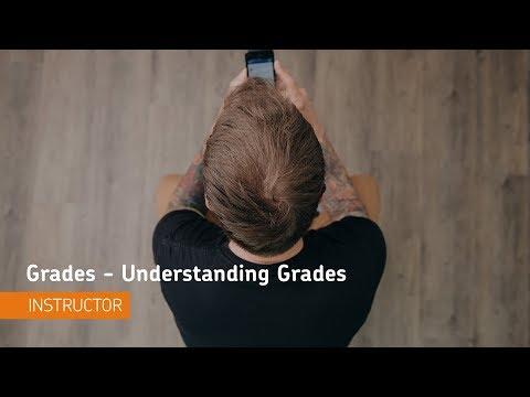 Grades - Understanding Grades - Instructor