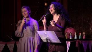 Taylor Louderman and Lesli Margherita -