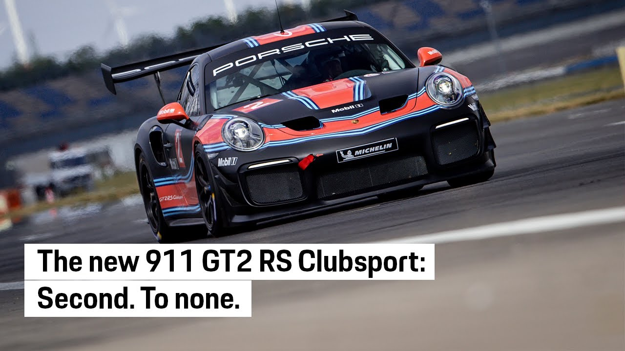 The new 911 GT2 RS Clubsport