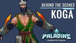 Paladins - Behind the Scenes - Koga, The Lost Hand
