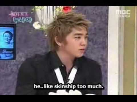 Kangin and Heechul cuts on 3 C W (eng) part1