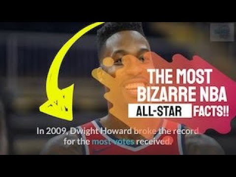 The Most Bizarre & Fun Facts About The Nba All-Star Game!