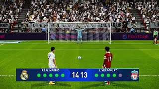 PES 2021 | Real Madrid vs Liverpool | Penalty Shootout | UEFA  Champions League UCL | Ramos vs Salah