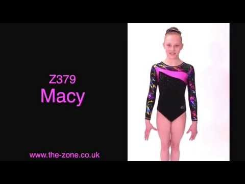 Macy Long Sleeved Gymnastics Leotard