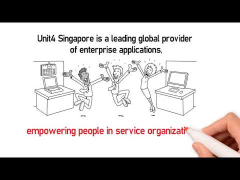 Unit4 Singapore, we develop technology that takes care of the business