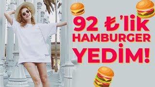 6,5 TL'lik Hamburger vs 92 TL'lik Hamburger