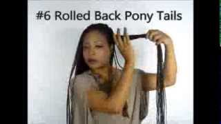 16.   Hairstyle! 10 Ways To Style Long Senegalese Twists Braids Updos ...