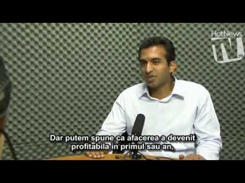 Ramu Yalamanchi (Hi5.com) in Studioul HotNews.ro - YouTube
