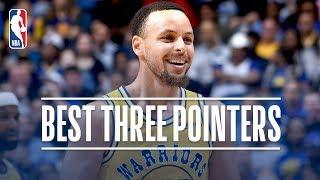 Stephen Curry's Best Three Pointers! 2018-19 NBA Season + Playoffs