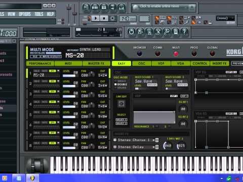 como poner sonidos de damas gratis en korg m1 fl studio