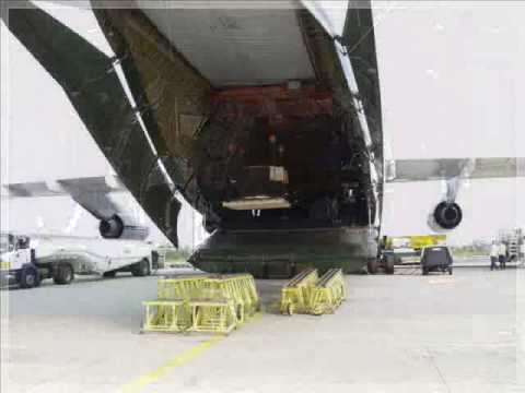SCS Heavy Lifts moves a gasturbine by Antonov for Houston