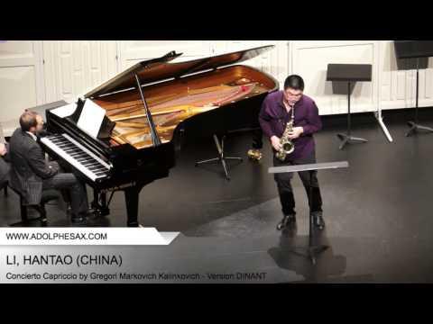 Dinant 2014 - Li, Hantao - Concerto Capriccio by Gregori Markovich Kalinkovich
