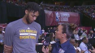 Brandon Ingram Likes What He Sees In Lonzo Ball | ESPN