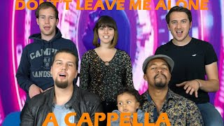Don't leave me alone - David Guetta feat Anne-Marie - B'n'T a cappella Cover