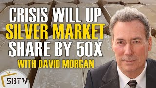 David Morgan - Currency Crisis Will Easily Increase Silver's Share Of Financial System By 50 Times
