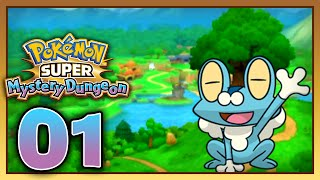 Let's Play Pokemon: Super Mystery Dungeon - Part 1 - Chapter 1