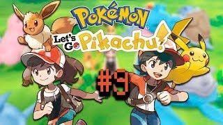 GAMEPLAY Pokemon Let's Go #9. DE CAMINO A CIUDAD CARMÍN - SkallenForce