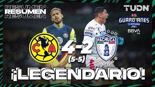 Resumen y goles | América 4(5)-(5)2 Pachuca | Torneo Guard1anes 2021 BBVA MX 4tos Vuelta | TUDN