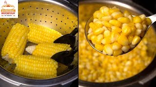 Sweet Corn Recipe   How to Cook Sweet Corn at Home   How to Boil Sweet Corn