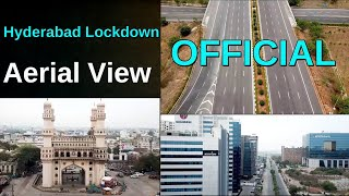 Watch: Aerial view of Hyderabad-Lockdown..