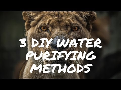 Water Purification Methods: Simple and Easy for any Survival Situation